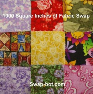 1000 Square Inches of Fabric Swap
