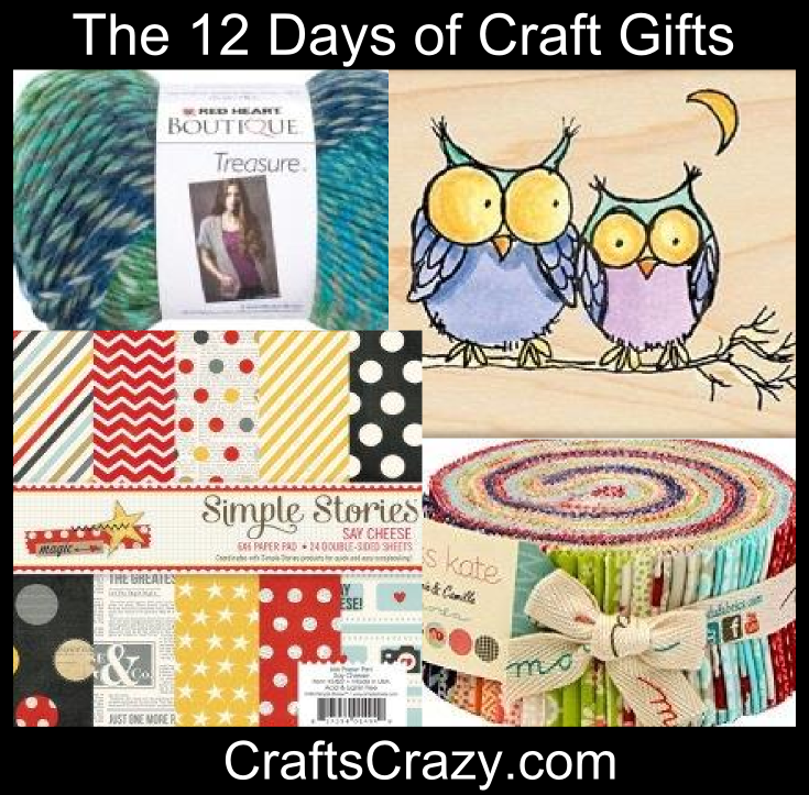 12 Days of Craft Gifts Graphic