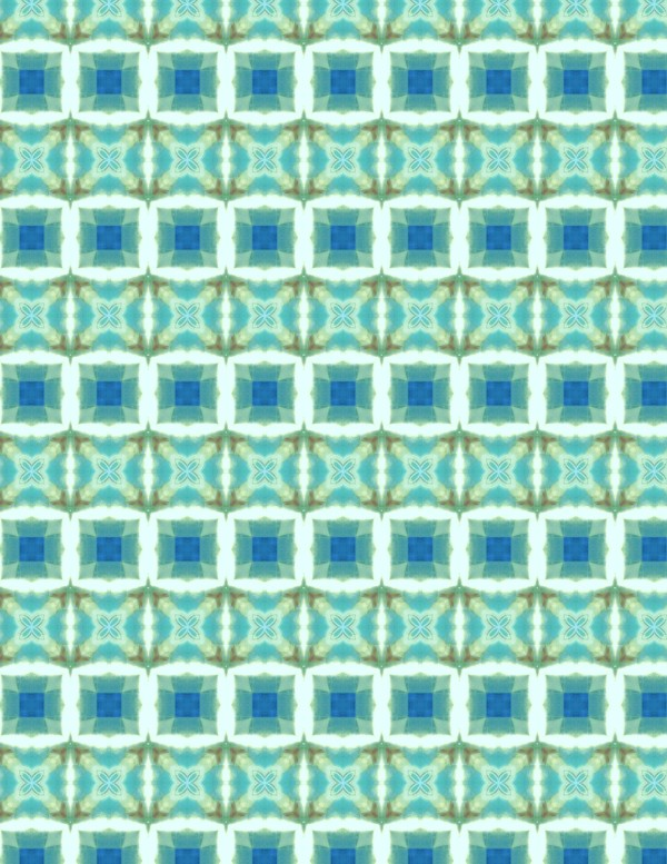 Aqua Squares 001