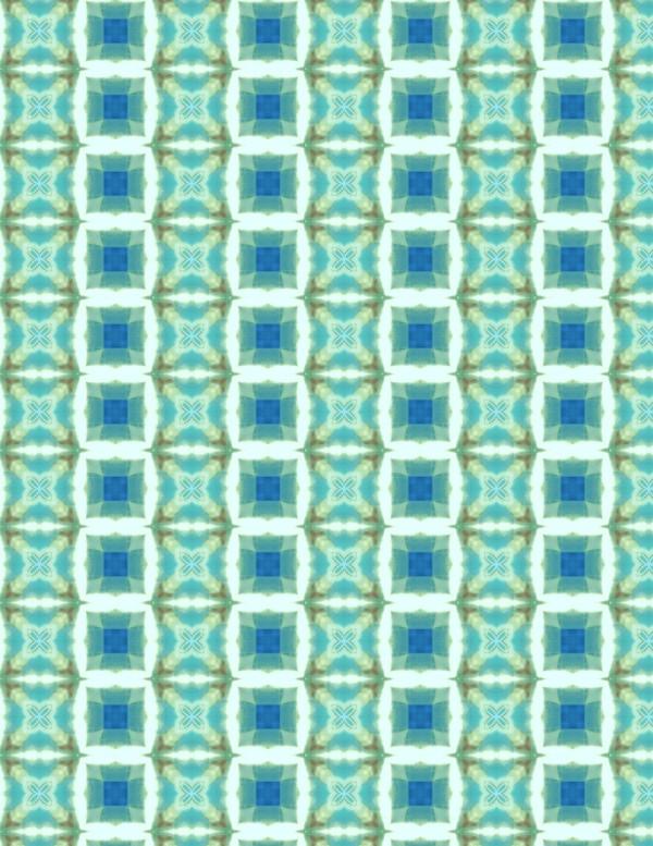 Aqua Squares 002