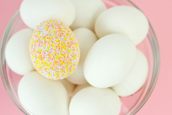 Candy Sprinkle Eggs