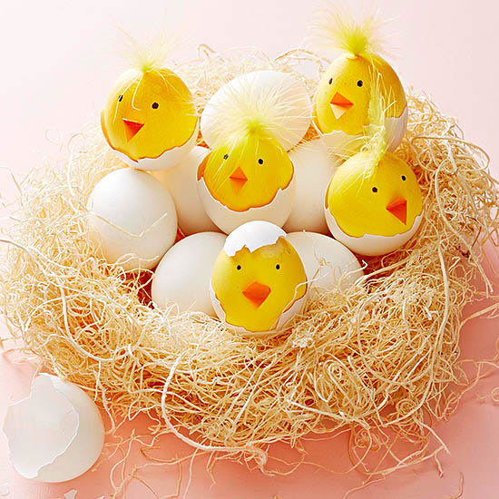 Chirping Chick Easter Eggs