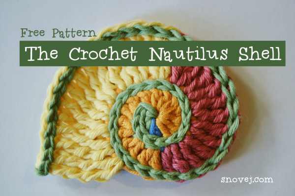 Crochet Nautilus Shell