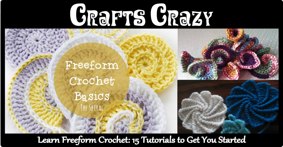 Freeform Crochet 15 Tutorials