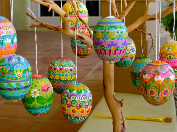 Hand-painted Easter Eggs by PDP