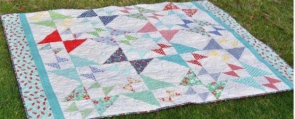 Hourglass Star Quilt
