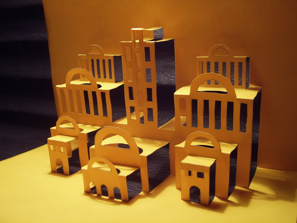 Kirigami Buildings