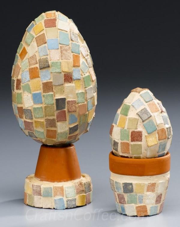 Mini Mosaic Eggs