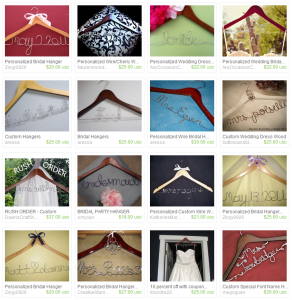 Personalized Wire Hangers