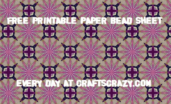 Purple Stars Free Patterned Paper