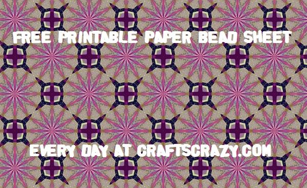 Purple Stars Free Patterned Paper