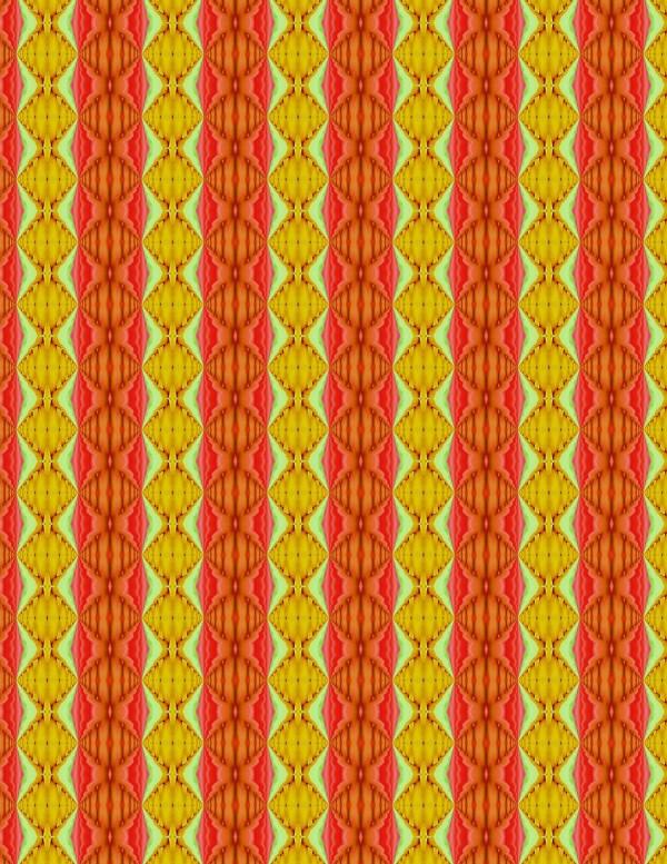Red Orange Stripes 003