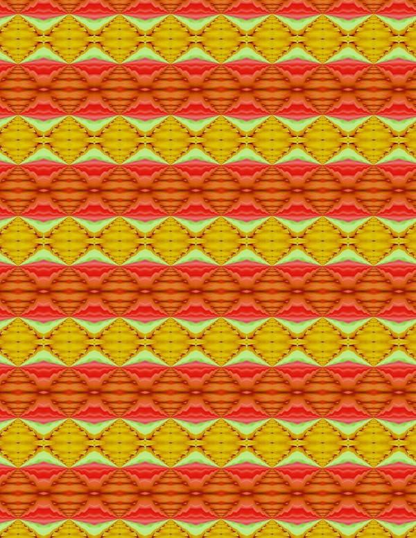 Red Orange Stripes 004