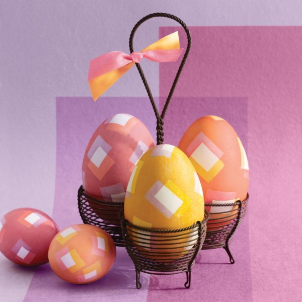 Square-patterned Eggs