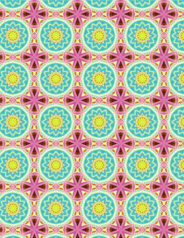 Sunny Days Paper Bead Sheet