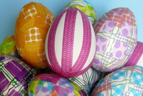 Washi Tape Easter Eggs by BBB