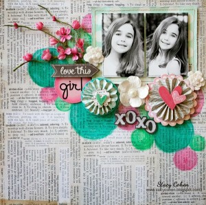 Watercolor Scrapbooking Tutorial