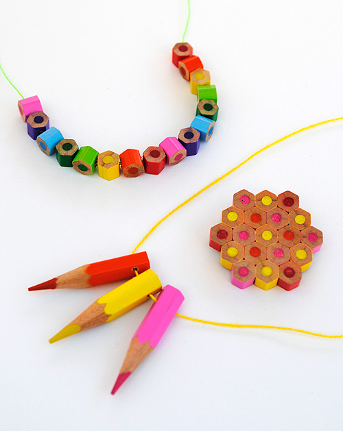 Colored Pencil Jewelry