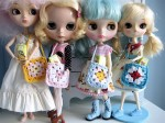 Dolls with Granny Purses