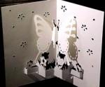 Butterfly Kirigami Pattern