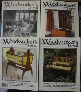 Woodworking Magazines to Trade